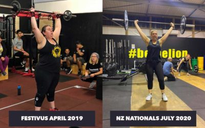My Journey So Far 2020 with CrossFit Manaia, Masterton